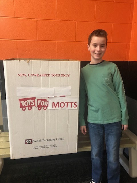 TPS 6th grader launches donation drive for hospitalized children