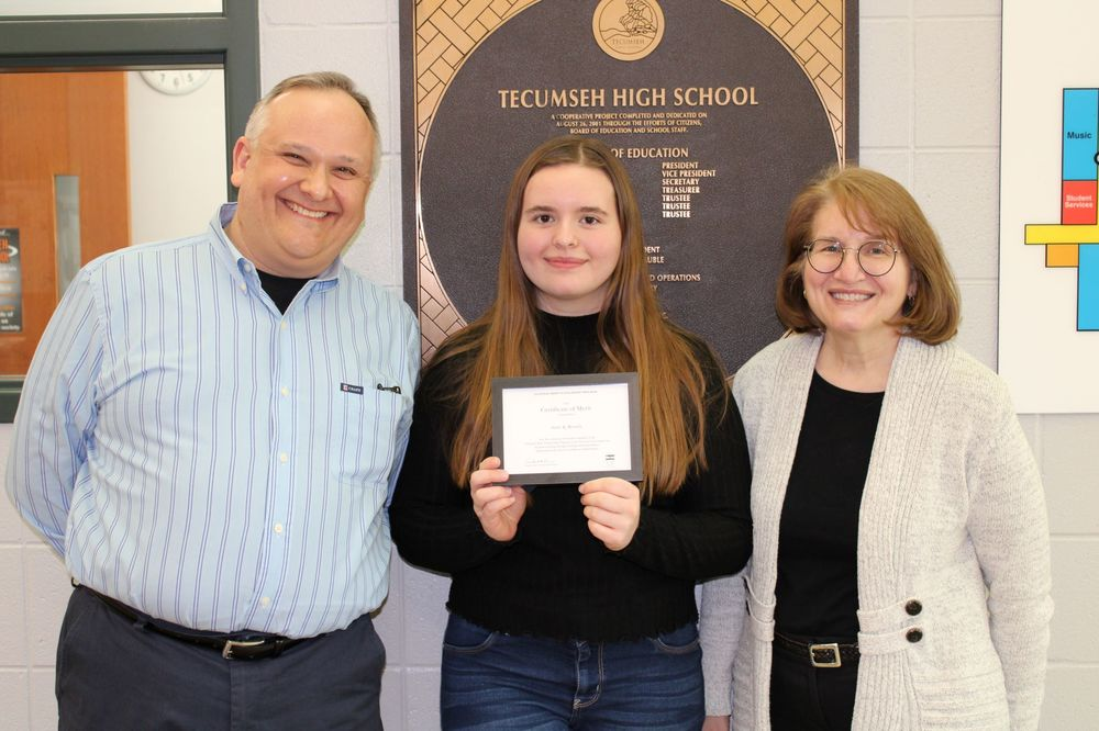 THS senior recognized as Merit Scholarship finalist