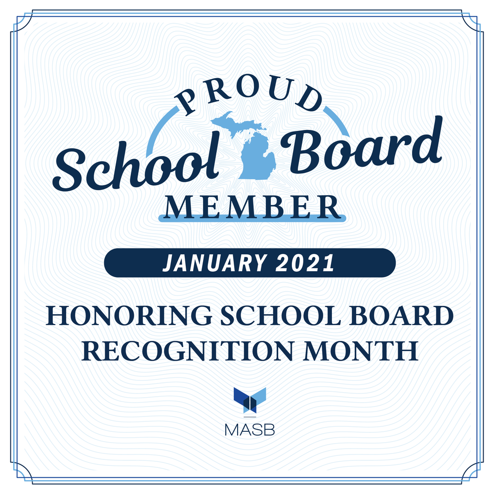January is 'School Board Recognition Month'