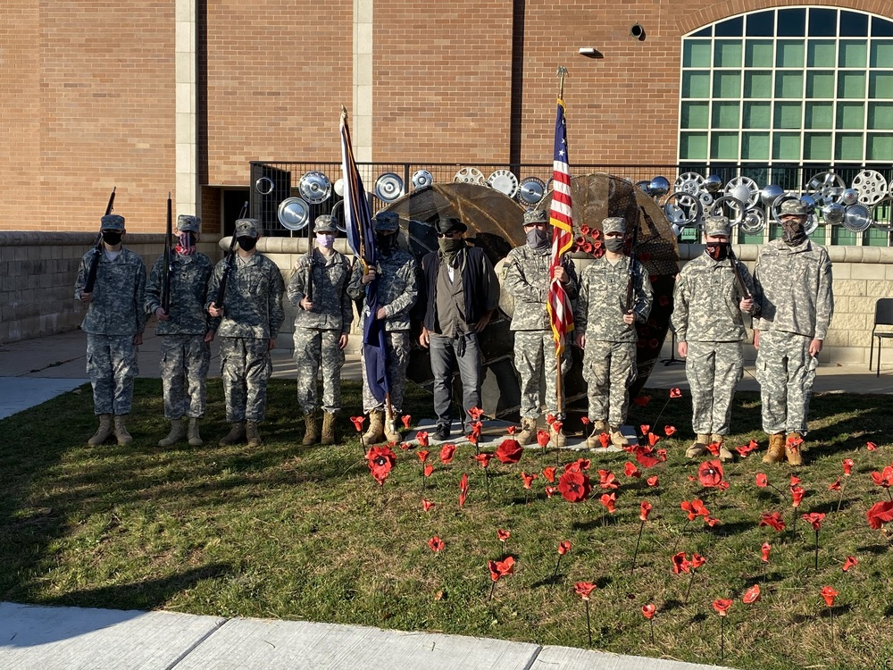 THS celebrates Veterans Day