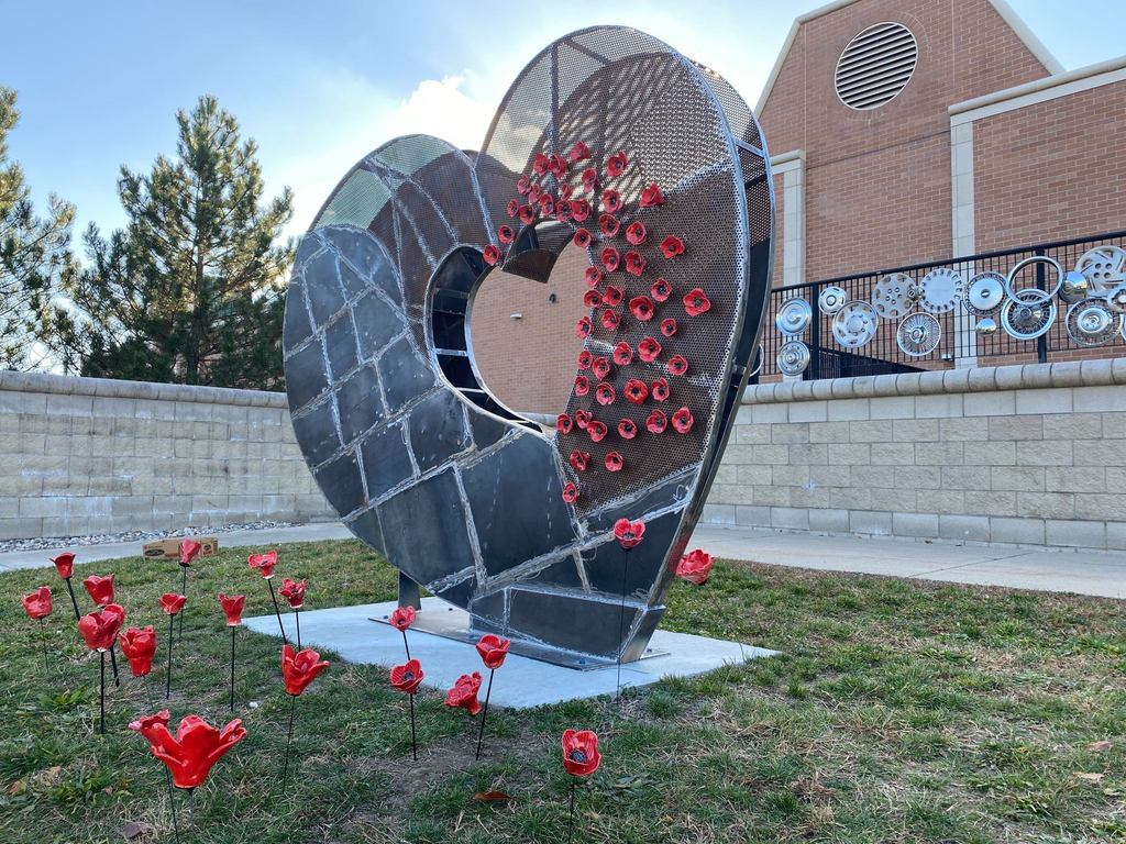 Open Heart sculpture